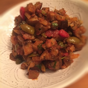 Roasted Eggplant Caponata