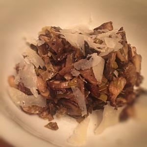 Wild Mushroom and Leek Ragout