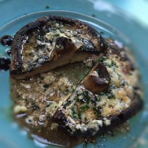 Grilled Portobello Shrooms