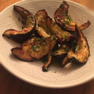 Roasted Acorn Squash with Chili Vinaigrette